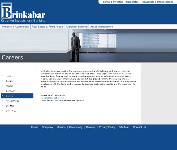 Photo of Online Presence for Los Angeles Investment Banking