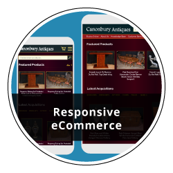 Fully Responsive eCommerce site with Content Management System.