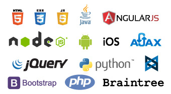 HTML5, CSS3 and PHP Logo or Symbol